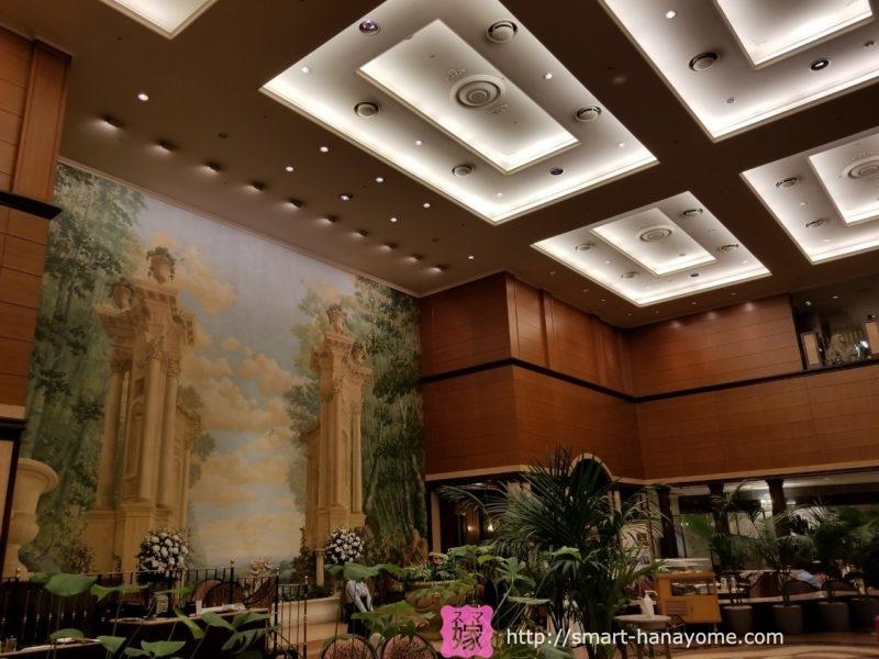 第一ホテル東京 アトリウムロビー