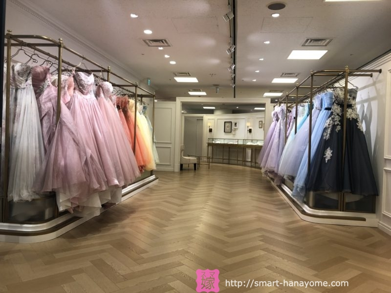 タカミブライダル青山本店 カラードレス