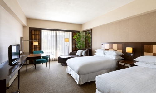 シェラトン都ホテル東京ツインルーム