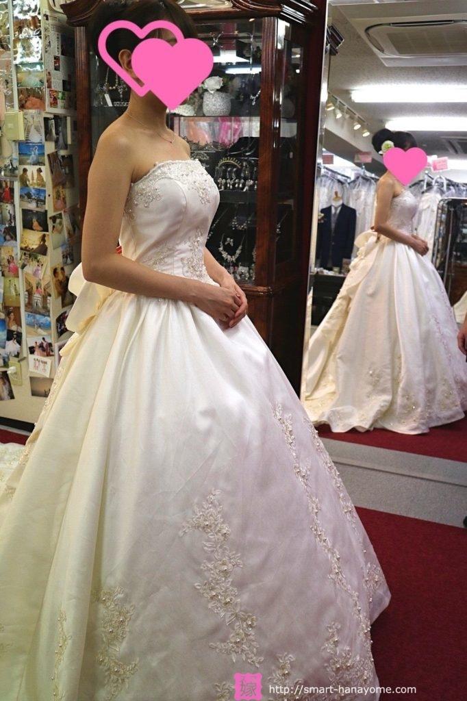 アトリエアンのウェディングドレス オペラ